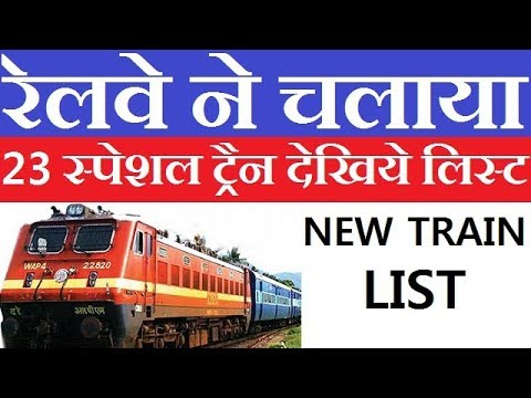 Railways Launches New Special Train Here Is List 2018
