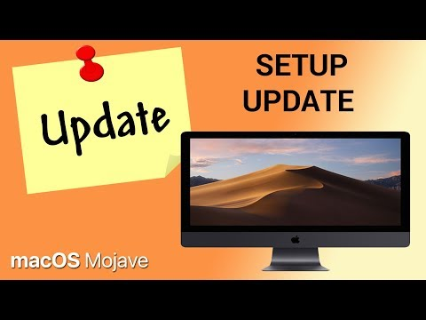 How to setup automatic update on macOS Mojave