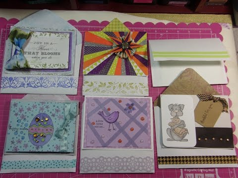 DIY Six Different Ways to Make Envelopes