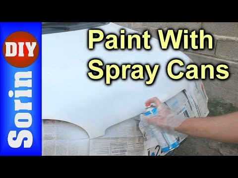 How To Paint Your Car With Spray Cans - DIY