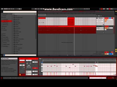 Skrillex + Alvin Risk - Try It Out Laser Tutorial in Massive