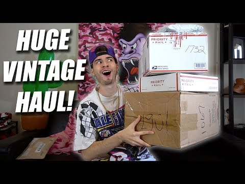 GIANT VINTAGE UNBOXING! TOMMY, POLO SPORT, NAUTICA & MO!