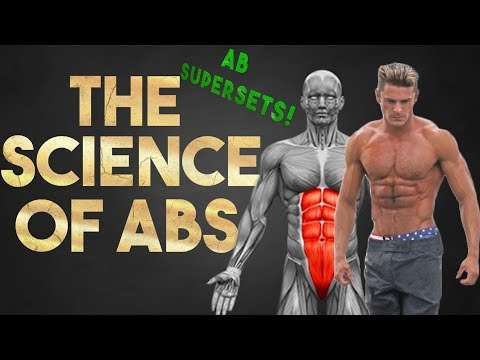 How To Quickly Get A Perfect Six Pack (5 BEST WEIGHTED ABS SUPERSETS)