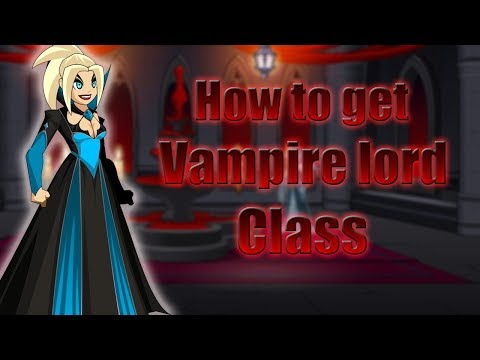AQW - How to get Vampire lord class (For non members)