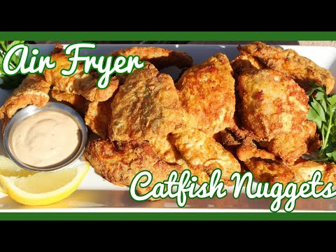 How To: Air Fryer Catfish Nuggets w/ Sous Vide Thick Cut Fries Collab w/ Smokin & Grillin w/AB (124)
