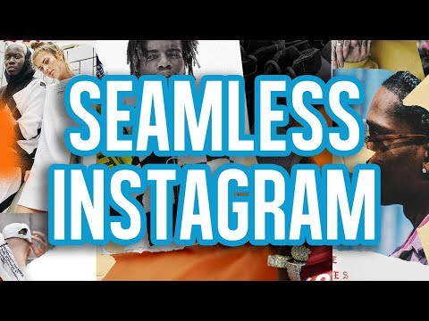 Creating a Seamless Instagram Collage (@caseymcperry)