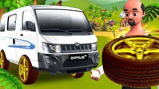लोहे के टाइयर Hindi Story | Steel Tyres हिंदी कहानी | Funny Village Comedy Hindi Stories Kahaniya