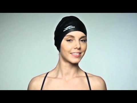 How to keep your hair dry underwater // Swim Elite Premium Long Hair Cap