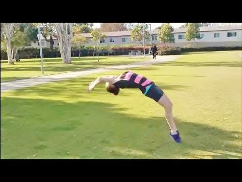 Improve your back handspring with coach Meggin!