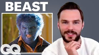 Nicholas Hoult Breaks Down His Most Iconic Characters | GQ