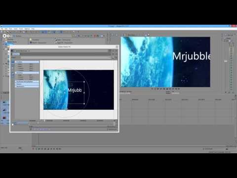 How to Make a Professional Space Intro in Sony Vegas Pro 13