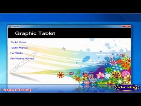 10 Graphics tablet