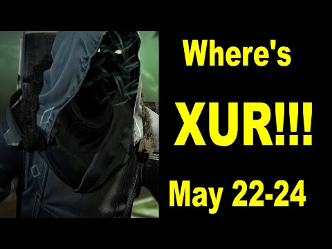 Destiny Where is Xur this week 5-22-2015