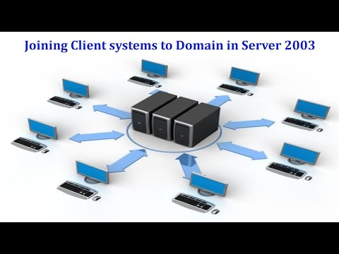 Server 2003 - How to join Client systems to Domain in Windows Server 2003