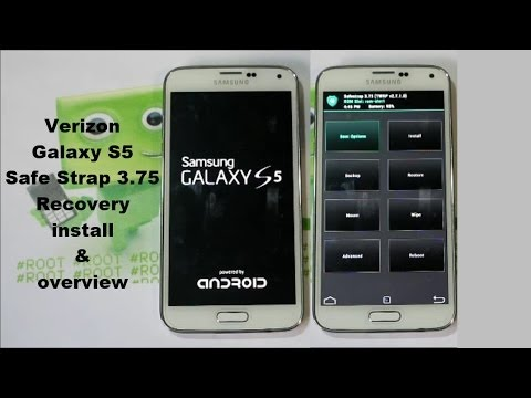 Verizon Galaxy S5 Safe Strap Recovery Install and Overview