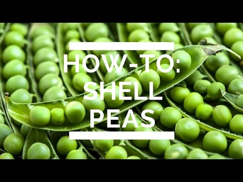 How-To: Shell Peas