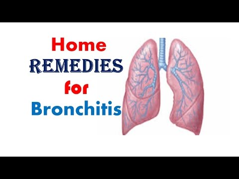 Home Remedies for Bronchitis, Symptoms, Causes & Treatment