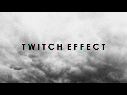 How to Add the Twitch Effect in Sony Vegas.