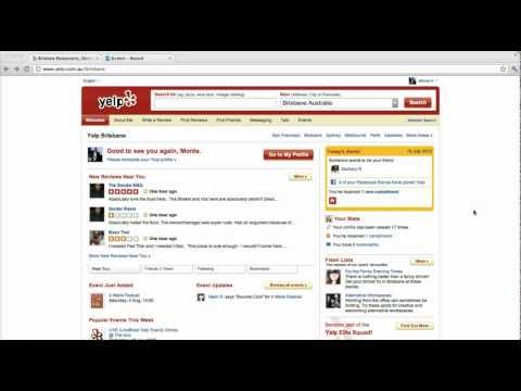 Claim your Yelp Business Listing