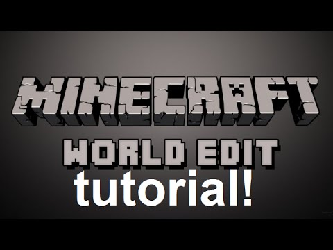 Minecraft: WorldEdit Plugin Tutorial!