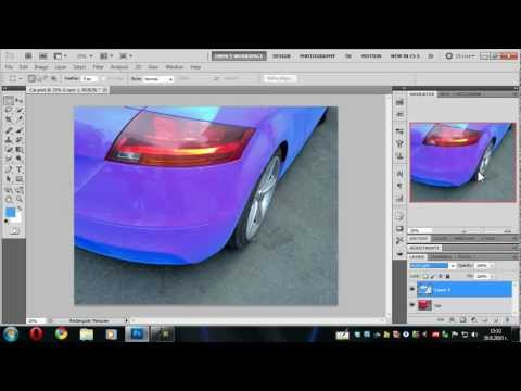 How-To Change the Color in Photos using Photoshop CS5