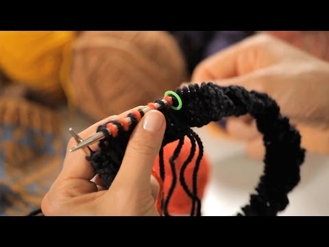 How to Add a Color   Circular Knitting