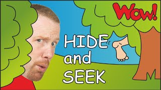 Hide and Seek Steve and Maggie | English for Kids | Story for Children