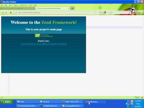 Getting Started with Zend Framework