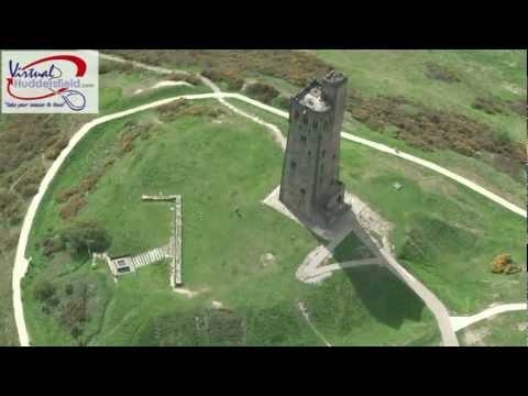 Castle Hill, Huddersfield  - Aerial Video