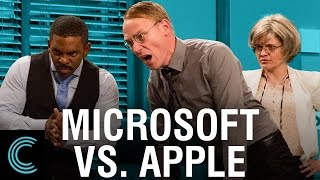 Microsoft Punishes Apple Users