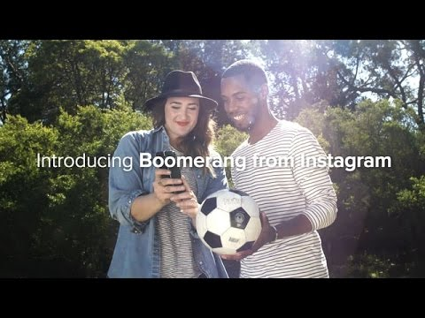 Boomerang from Instagram [ HOW TO ] Install and Create boomerang