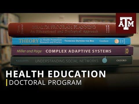 Doctoral Program: Health Education