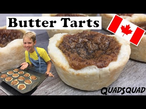 How to Make Butter Tarts FROM SCRATCH - Kitchen Adventures with Ethan