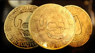 Electro-Etching and Casting Brass Challenge Coins: Maker Adventure 10!
