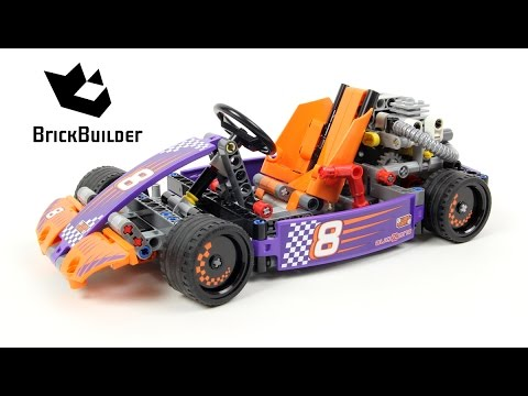 Lego Technic 42048 Race Kart - Lego Speed build