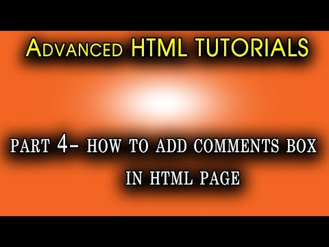 How to Applay Comments in HTML | Apply |Tuto Campus HTML