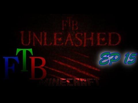 Minecraft FTB Unleashed EP 15  (Pink Slime Balls)