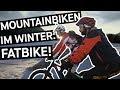 Freeriden mit dem Fatbike - eine Alternative für schneefreie Winter?    PULS Reportage