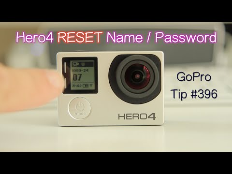 How to Reset the GoPro Hero4 Wi-Fi Name and Password - GoPro Tip #396