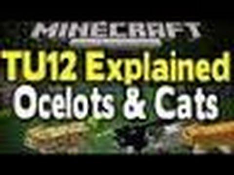 Minecraft: How To Tame Ocelots! TU12