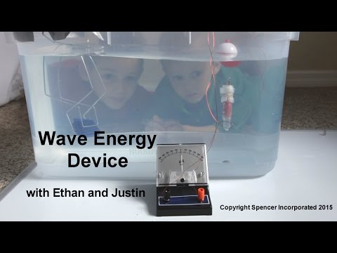 Make Electricity With Waves!