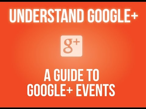 A Guide to Google+ Events