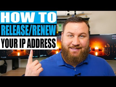 How to Release or Renew an IP Address in Any Windows OS
