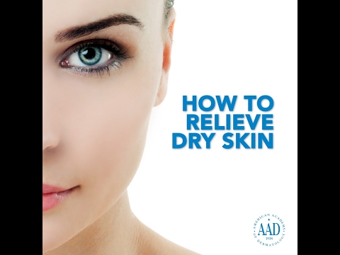 How to relieve dry skin