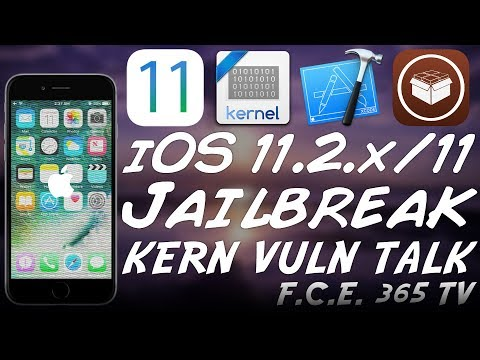 iOS 11.2.x/11 JAILBREAK NEWS: NEW KERNEL VULNERABILITY RESEARCH PRESENTATION COMING
