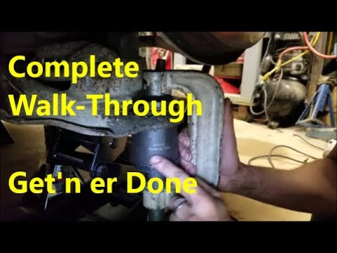 Replace Lower Ball Joint: 80s - 90s Chevy Truck & Van (Simple, Safe, Effective)