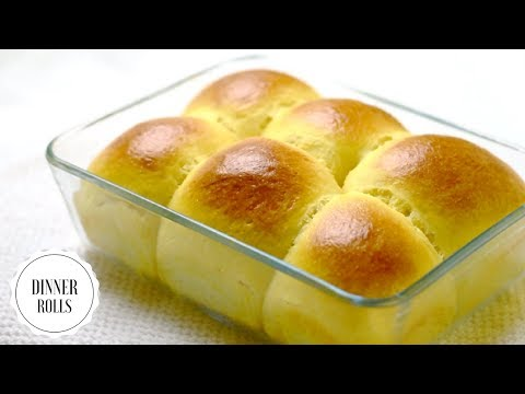Easy No Knead Dinner Rolls/ Bread making in Five Simple Steps