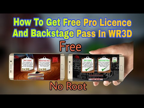 How to Get Pro Licence In WR3D Games Hacker