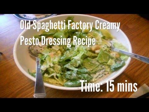Old Spaghetti Factory Creamy Pesto Dressing Recipe Recipe