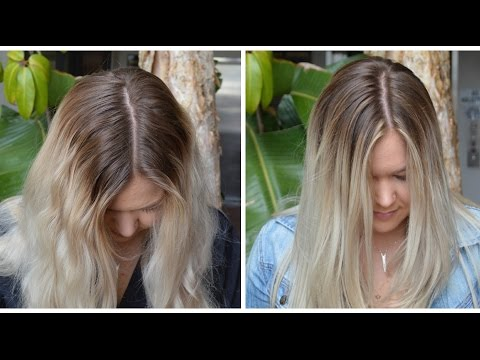 Sombre Root Smudge | My Hair Color!